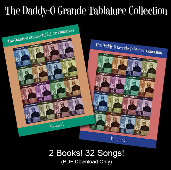 Daddy-O Grande Tablature